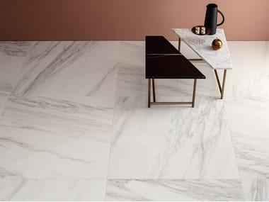 Pavimento/rivestimento in gres porcellanato effetto marmo DELIGHT - VENATO BIANCO