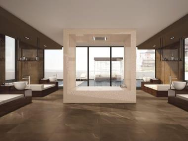Pavimento/rivestimento effetto marmo DELUXE BRONZE