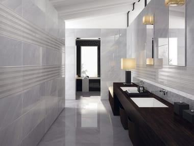 Pavimento/rivestimento effetto marmo DELUXE GREY