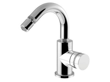 Single handle bidet mixer with swivel spout DELUXE - MYRING - FMR0087ADL