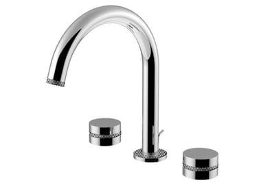 3 hole countertop washbasin mixer DELUXE - MYRING - FMR0112ADL