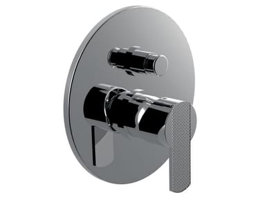 Recessed single handle shower tap with diverter DELUXE - SURF - F5813DL