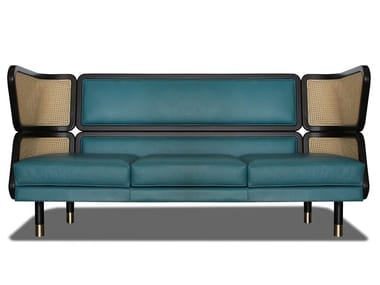 Leather sofa DEN