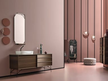 Contemporary style vanity unit DES 32-33