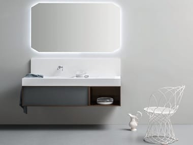 Wall-mounted vanity unit DES 53