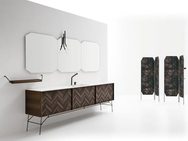 Contemporary style vanity unit DES 70-71