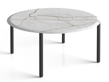 Table ronde en marbre DESIGN FOR SOUL | Table ronde