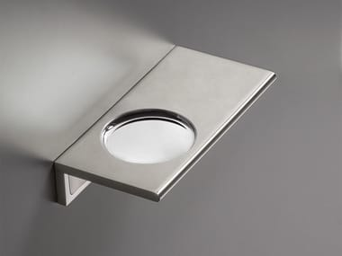 Wall-mounted stainless steel soap dish DET 88