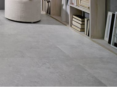 Porcelain stoneware wall/floor tiles with concrete effect DETROIT