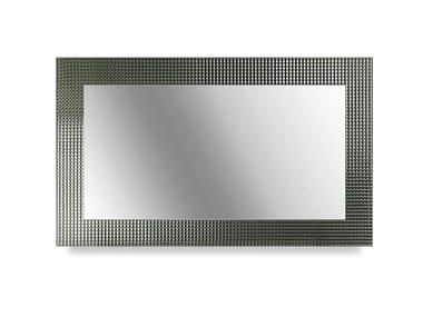 Specchio rettangolare con cornice DIAMANTE | Specchio