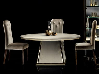 Round living room table DIAMANTE | Round table