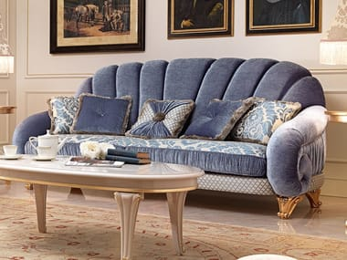 3 seater fabric sofa DIAMANTE | Sofa