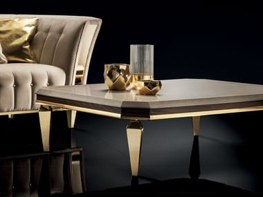 Tavolino quadrato da salotto DIAMANTE | Tavolino quadrato
