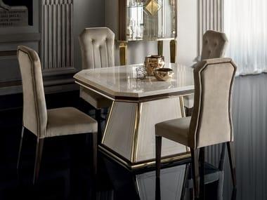 Tavolo da salotto quadrato DIAMANTE | Tavolo quadrato