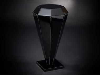 Glass pedestal DIAMANTE | Pedestal