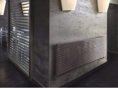 Termoarredo orizzontale in acciaio a parete DIAPASON O