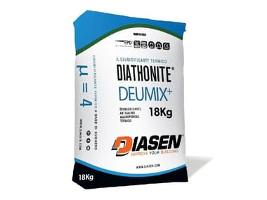 Dehumidifying plaster DIATHONITE DEUMIX+