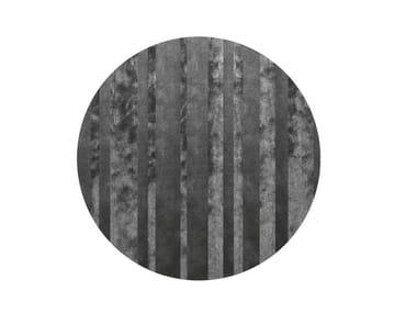 Round rug DIBBETS BARCODE | Round rug