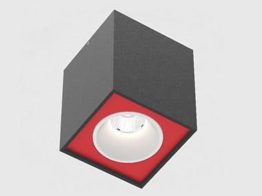 LED ceiling square spotlight DICE INVADER