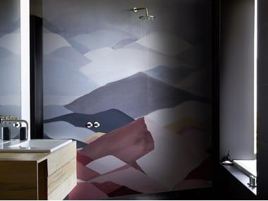 Bathroom wallpaper DIMANCHE