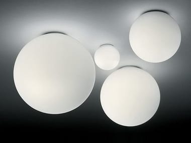 Blown glass ceiling lamp DIOSCURI | Ceiling lamp