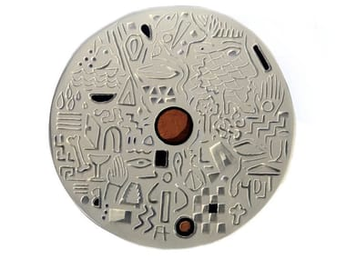 Ceramic sculpture DISK III