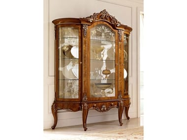 Wooden display cabinet DAVID | Display cabinet