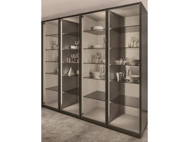 Tempered glass display cabinet TECA | Display cabinet