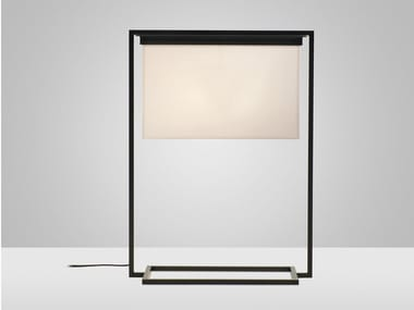 Direct light steel table lamp DITAL