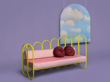 3 seater velvet sofa ARCO | Sofa