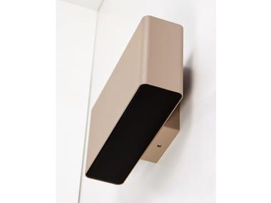 LED aluminium wall lamp DIVAR WALL MONO