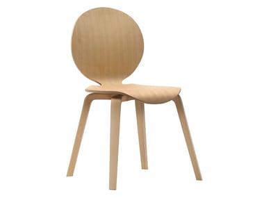 Medallion wooden chair DOLCE VITA