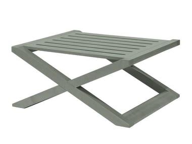 Low multi-layer wood garden side table DOLCEVITA TSTC01