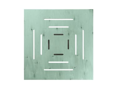 Square multi-layer wood high side table DOLCEVITA TSTV03
