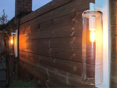 Lampada da parete per esterno a luce diretta in alluminio DOME WALL