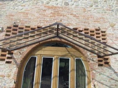 iron door canopy door canopy 15