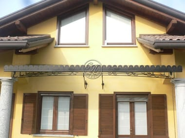 Iron door canopy Door canopy 18 & Iron door canopy Door canopy 12 By GH LAZZERINI
