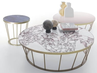 Marble coffee table DORA
