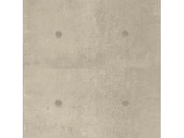 Pavimento/rivestimento in gres porcellanato effetto cemento DOT DECO GREIGE