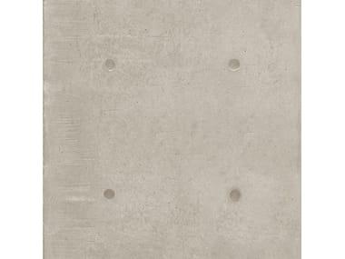 Pavimento/rivestimento in gres porcellanato effetto cemento DOT DECO GRIGIO CHIARO