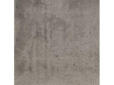 Pavimento/rivestimento in gres porcellanato effetto cemento DOT GRIGIO SCURO