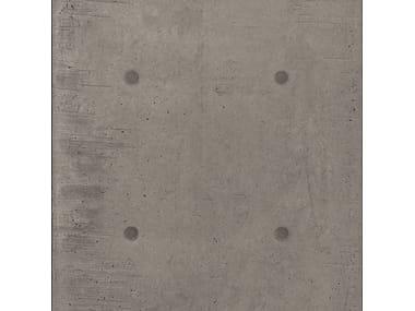 Pavimento/rivestimento in gres porcellanato effetto cemento DOT DECO GRIGIO SCURO