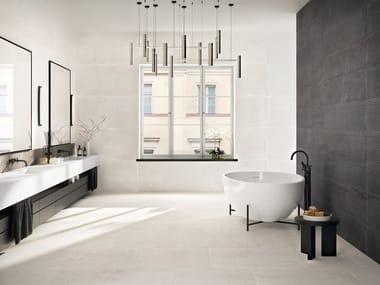 Porcelain stoneware wall/floor tiles DOTCOM WHITE