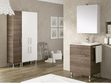 Laundry room cabinet with sink DOUBLE 05
