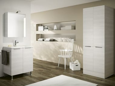 Laundry room cabinet with sink DOUBLE 08