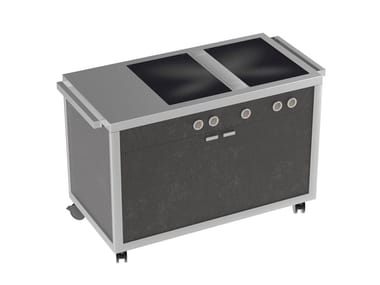 Induction Professional cooker Double Induction top station