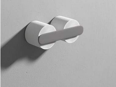 Double Corian® toilet roll holder MOON | Double toilet roll holder