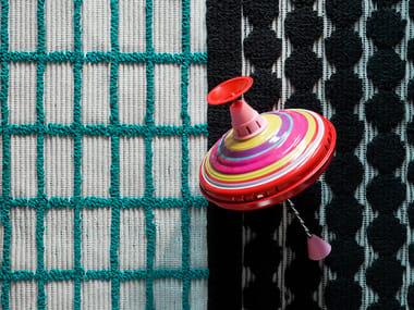 Rectangular custom rug DOUBLEFACE LINE