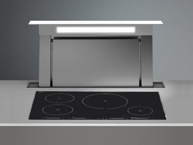 Slide-out stainless steel downdraft DOWN DRAFT