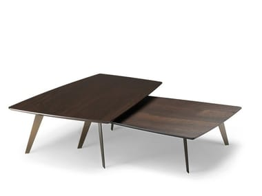 Low side table DOWNTOWN | Low coffee table